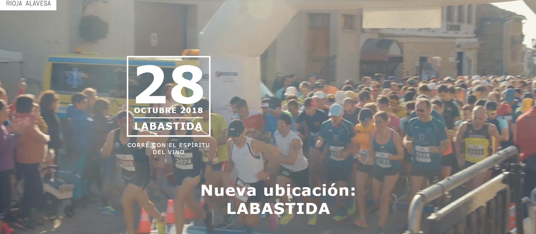 Wine Run Rioja Alavesa 2018 (Labastida)