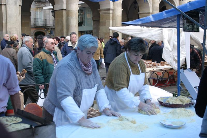 Mercado Agricola de Navidad Vitoria Gasteiz. Foto Aitor Ayesa