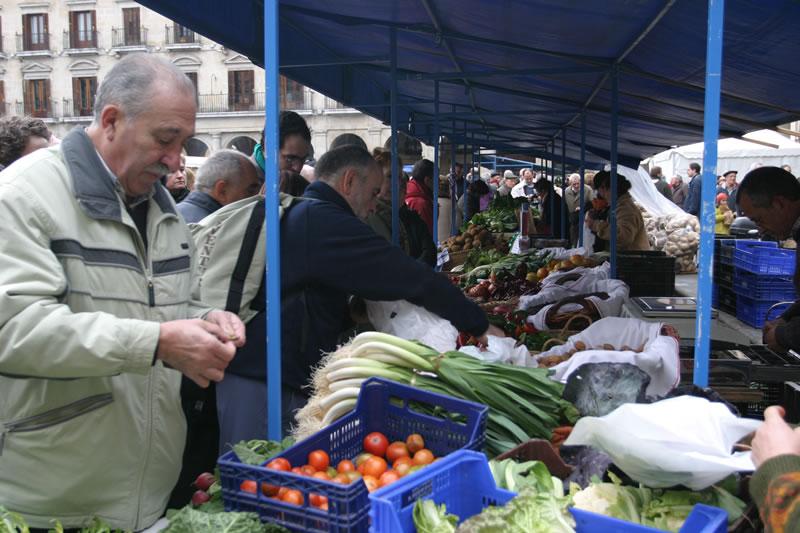 Mercado Agricola de Navidad. Aitor Ayesa