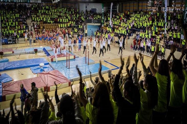 Gala Internacional Navideña de Gimnasia de la Federación Alavesa de Gimnasia