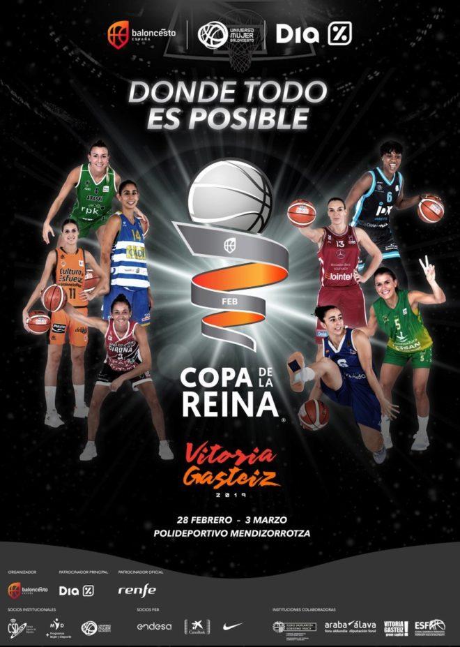 Copa de la Reina de baloncesto, Vitoria-Gasteiz 2019
