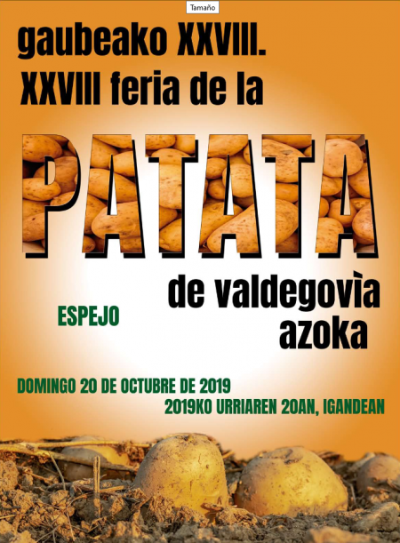 XXVIII Feria de la Patata en Espejo (20 de octubre)