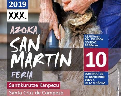 Feria de San Martín 2019, Santa Cruz de Campezo