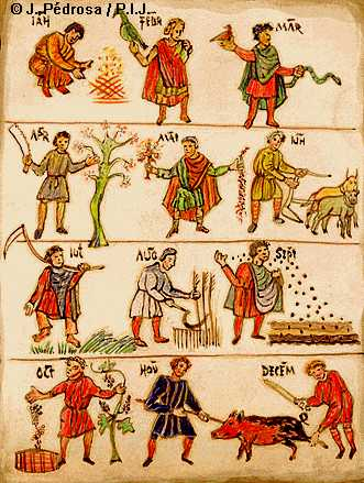 Txarriboda, en Artziniega. Otoño en Álava, tiempo de tradiciones.
