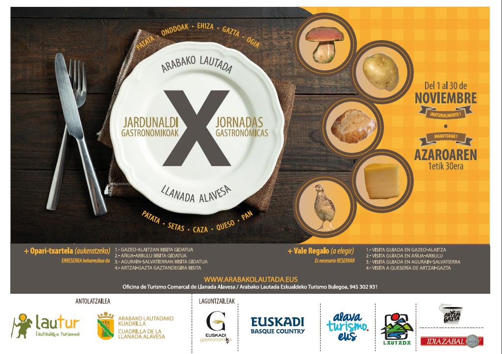 X Jornadas Gastronómicas de la LLanada Alavesa