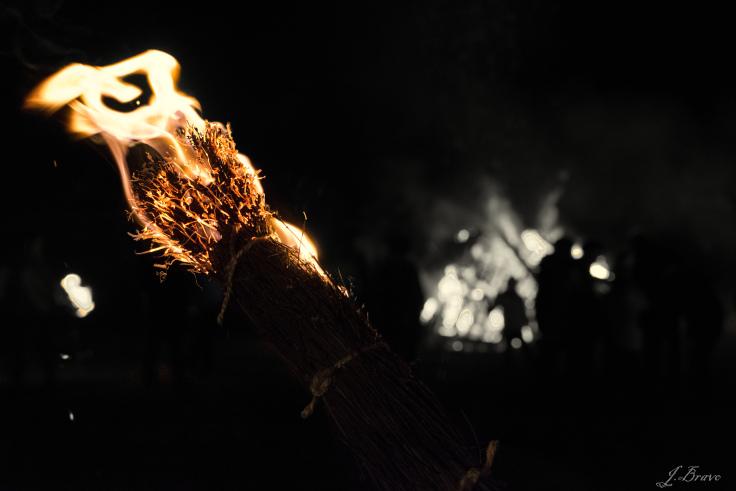 (Fotografías de Jorge Bravo) Noche mágica de las mañas.