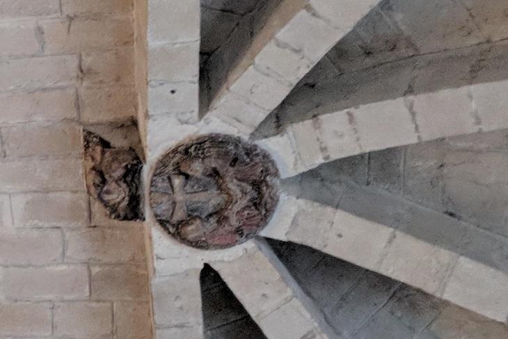 Bóveda Iglesia románica Tuesta Álava