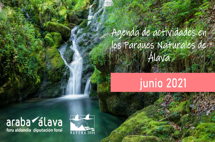 Agenda de actividades en los Parques Naturales de Álava