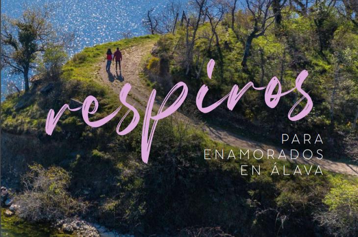 Álava se presenta en FITUR a través de la propuesta 'Respiros para enamorados en Álava'