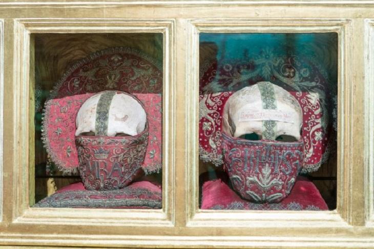 Las Reliquias de Mártioda en el Museo de Bellas Artes