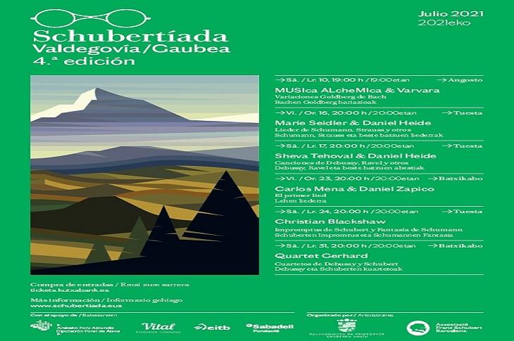 Nueva edición de la Schubertiada de Valdegovía