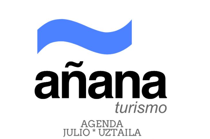 Agenda de la Cuadrilla de Añana para julio de 2021