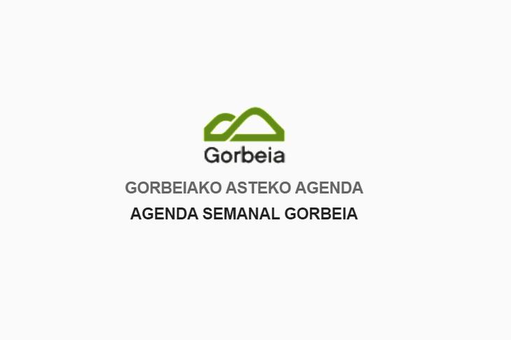 Agenda de Gorbeia para junio de 2021