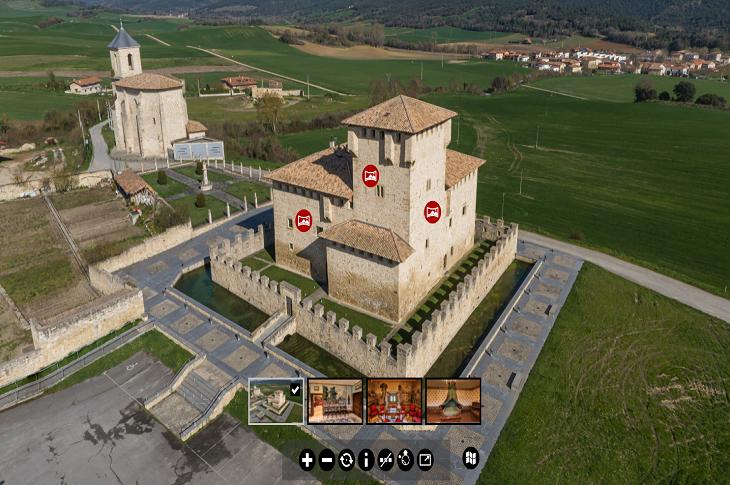La Torre de los Varona estrena nuevo recorrido virtual
