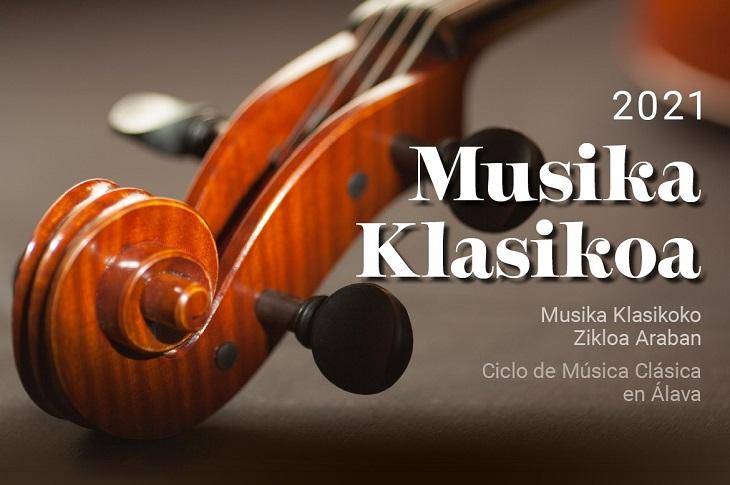 El Ciclo de Música Clásica recorrerá Álava con seis conciertos en agosto