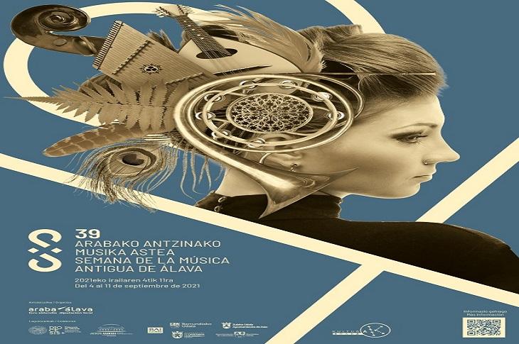 La XXXIX edición de la Semana de Música Antigua de Álava tendrá lugar del 4 al 11 de septiembre